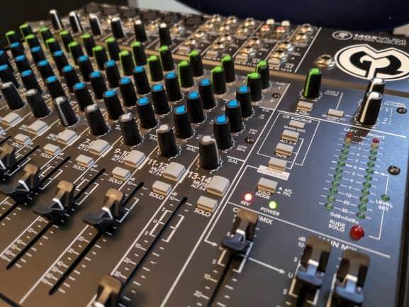 Audiomischpult von Macki