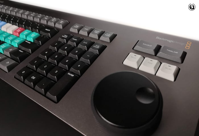 DaVinci Resolve Editors Keyboard (E)