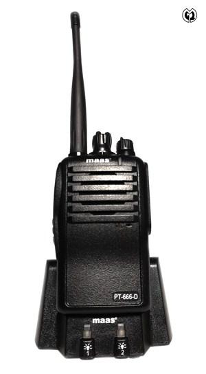 MAAS PT-666-D Handfunkgeräte-Set