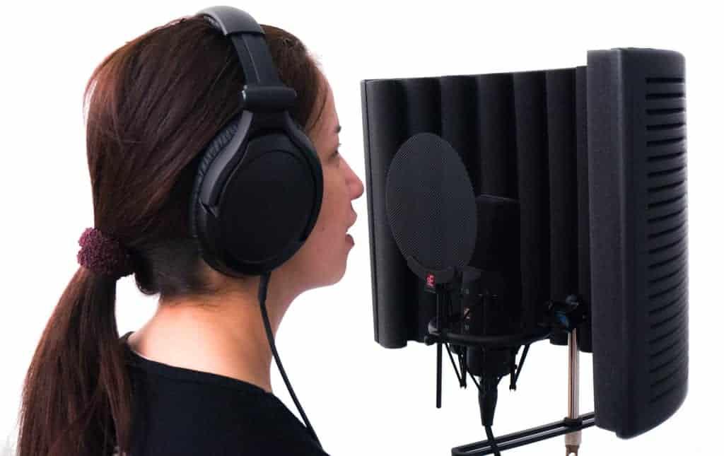 Mobile Sprecherkabine inkl. Mikro