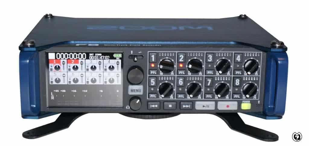 Zoom F8 8-Kanal Audio-Mischer & Rekorder