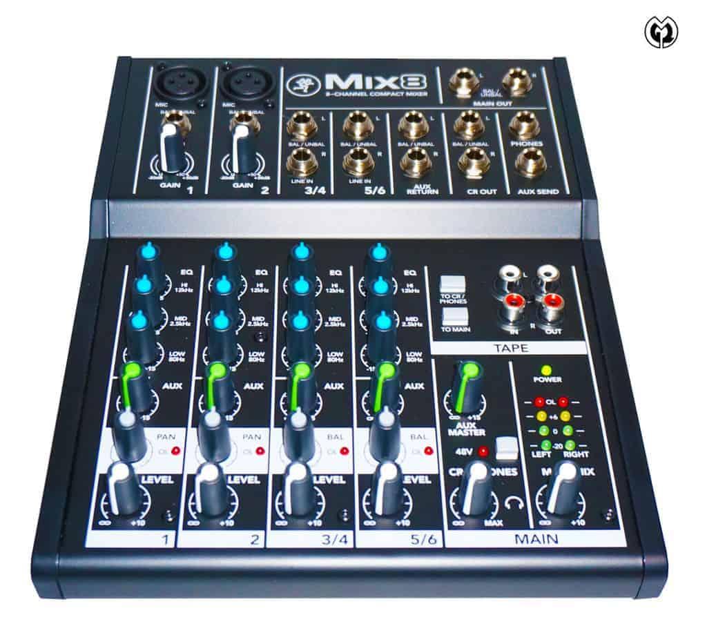 MIX8 Audiomischer von Mackie