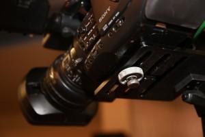 Kamera Montage am Remotehead