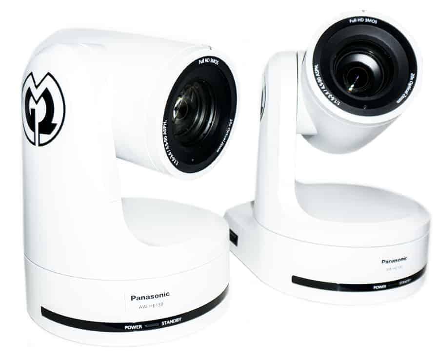 Panasonic PTZ-Kameras mit Controller