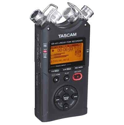 TASCAM DR-40 4-Kanal Audio-Recorder